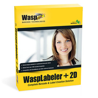 Wasp WaspLabeler +2D (10U) bar coding software