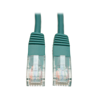 Tripp Lite N002-015-GN 4.57m Cat5e U/UTP (UTP) Green networking cable