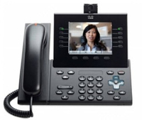 Cisco 9951 Wired handset 5lines TFT Charcoal IP phone