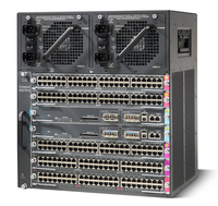 Cisco Catalyst 4507R-E 11U Black network equipment chassis