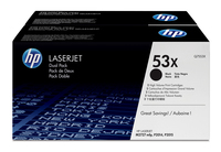 HP 53X Laser cartridge 14000pages Black