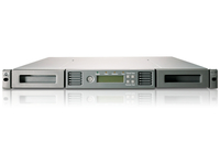 Hewlett Packard Enterprise StoreEver 1/8 G2 LTO-6 Ultrium 6250 SAS Tape Autoloader 15000GB 1U tape auto loader/library