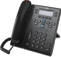 Cisco Unified IP 6945 Wired handset Charcoal IP phone