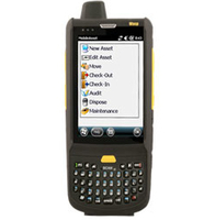 "Wasp HC1 3.8"" 800 x 480pixels Touchscreen 390g Black,Yellow PDA"