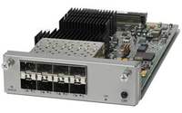 Cisco C4KX-NM-8SFP+ network switch module