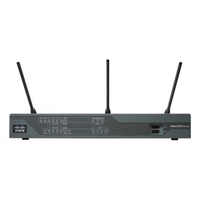 Cisco C897VA-K9 Gigabit Ethernet Black wireless router