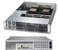 Supermicro 828TQ-R1K43LPB Rack 1400W Black computer case