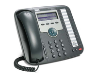 Cisco 7931G Wired handset 24lines LCD Black IP phone
