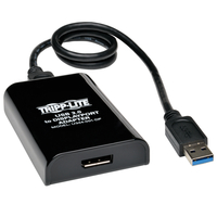 Tripp Lite U344-001-DP USB-3.0 B DisplayPort Black cable interface/gender adapter