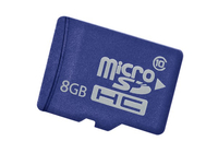 Hewlett Packard Enterprise 8GB microSD 8GB MicroSD Class 10 memory card