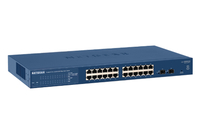 Netgear GS724T Managed network switch L3 Gigabit Ethernet (10/100/1000) Blue
