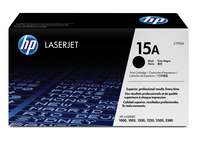 HP 15A Laser cartridge 2500pages Black