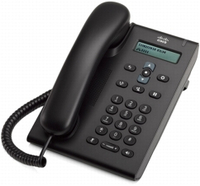 Cisco 3905 Wired handset 1lines Black IP phone
