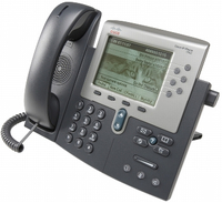 Cisco 7962G Wired handset Black,Grey IP phone
