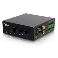 C2G 40880 Home Wired Black audio amplifier