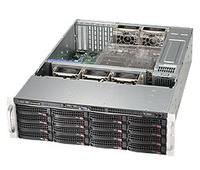 Supermicro 836BE1C-R1K03B Rack 1000W Black computer case