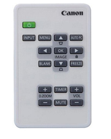 Canon LV-RC08 IR Wireless Press buttons White remote control