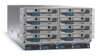 Cisco UCS 5108 Blade Server Chassis 6U Grey network equipment chassis