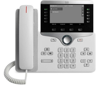 Cisco 8811 Wired handset White IP phone
