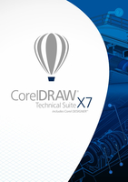 Corel DRAW Technical Suite X7 Electronic Software Download (ESD) German, English, French
