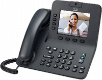 Cisco 8941 Wired handset 4lines Black IP phone