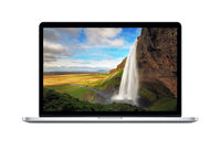 "Apple MacBook Pro Retina 15"" 15.4"" 2880 x 1800pixels Silver"