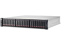 Hewlett Packard Enterprise MSA 1040 2-port SAS Dual Controller SFF Rack (2U) Zwart, Grijs disk array