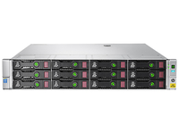 Hewlett Packard Enterprise StoreEasy 1650 90TB NAS Rack (2U) Ethernet LAN Metallic