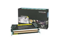 Lexmark C734A1YG Laser cartridge 6000pages Yellow laser toner & cartridge