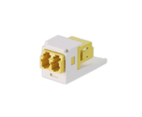 Panduit CMDDYLLCZAW LC 1pcs White,Yellow fiber optic adapter
