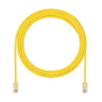 Panduit Cat6, 60ft 18.3m Cat6 U/UTP (UTP) Yellow networking cable