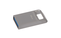 Kingston Technology DataTraveler Micro 3.1 16GB 16GB USB 3.0 (3.1 Gen 1) USB Type-A connector Metallic USB flash drive