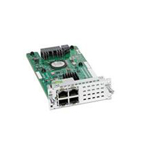 Cisco NIM-ES2-4= Gigabit Ethernet network switch module