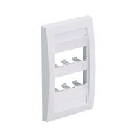 Panduit CFPE6EIY White switch plate/outlet cover