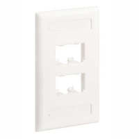 Panduit CFPL4WHY White switch plate/outlet cover