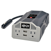 Tripp Lite PowerVerter Auto 400W Silver power adapter & inverter