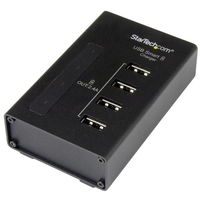 StarTech.com ST4CU424 Indoor Black mobile device charger