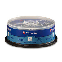 Verbatim 98908 4.7GB DVD-R 25pcs Read/Write DVD