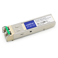 Add-On Computer Peripherals (ACP) SFP-1GB-DW57-40-AO Fiber optic 1000Mbit/s SFP network transceiver module