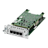 Cisco NIM-4BRI-NT/TE BRI voice network module