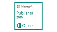 Microsoft Publisher 2016, 1u, NL