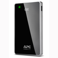APC M12BK Lithium Polymer (LiPo) 12000mAh Black, Grey power bank