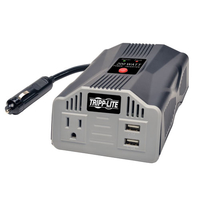 Tripp Lite PV200USB Auto 200W Silver power adapter & inverter
