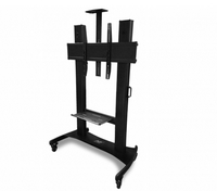 "Infocus INA-MCARTDX 100"" Portable Black flat panel floorstand"