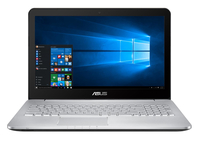 "ASUS N552VW-FY094T 2.6GHz i7-6700HQ 15.6"" 1920 x 1080pixels Brown,Stainless steel Notebook"