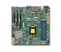 Supermicro X11SSH-LN4F Intel C236 LGA 1151 (Socket H4) Micro ATX server/workstation motherboard