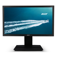 "Acer B6 B206HQL 19.5"" Full HD VA Black,Grey computer monitor"