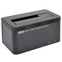 Tripp Lite U439-001 Black HDD/SSD docking station