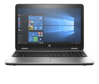 "HP 650 G2 2.3GHz i5-6200U 15.6"" 1366 x 768pixels Black, Silver Notebook"
