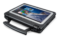 "Panasonic Toughbook CF-20 1.1GHz m5-6Y57 10.1"" 1920 x 1200pixels Touchscreen Black,Silver Hybrid (2-in-1)"